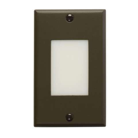 Kichler 12604AZ LED Step Light Lens in Architectural Bronze.