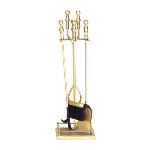 4 - Tool Fireset - Antique Brass Plated
