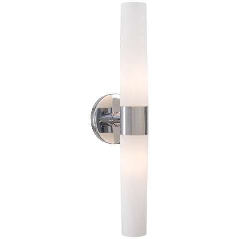 George Kovacs P5042-077 2 Light Bath in Chrome finish with Case Etched Opal Glass