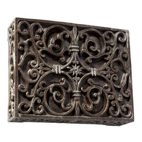 Craftmade Teiber Chimes - Traditional - Carved Box - Renaissance Crackle