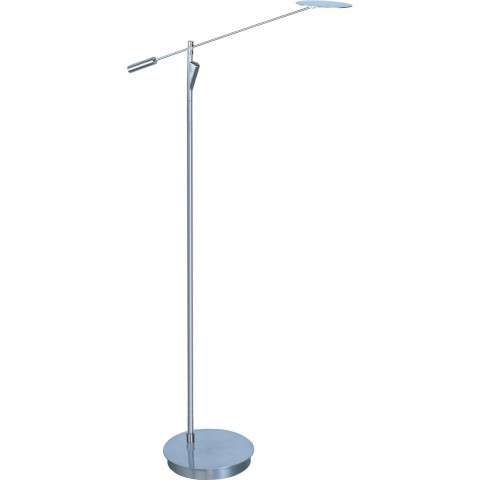 ET2 Contemporary Lighting E41009-SN Eco-Task 1-light Floor Lamp in Satin Nickel finish