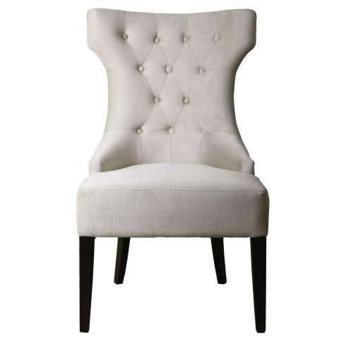Uttermost Arlette Tufted Wing Chair