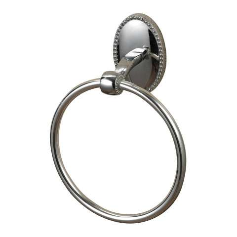 Towel Ring - Towel Ring In Chrome - Zinc And Metal
