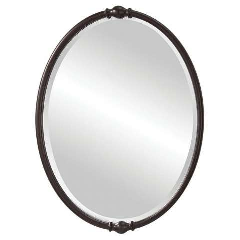 Murray Feiss MR1119ORB Jackie Mirrors in Oil Rubbed Bronze finish with Clear Glass