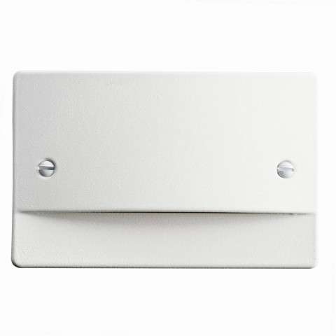 Step and Hall Light - LED STEPLIGHT NON DIMMABLE in White Finish
