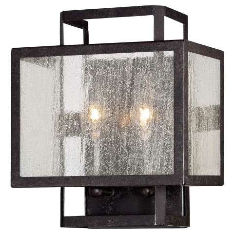 Wall Sconces 1Lt Wall Sconce In Aged Charcoal