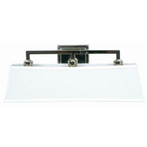 Craftmade Exteriors Denton - Polished Nickel 3 Light Vanity Fixture in Polished Nickel