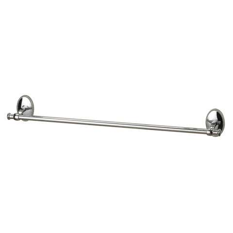 "Shelf - 24"" Towel Rail In Chrome - Zinc And Metal"