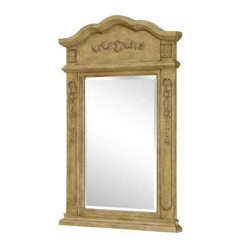 "Vanity Mirror 24"" x 36"" Antique Beige"