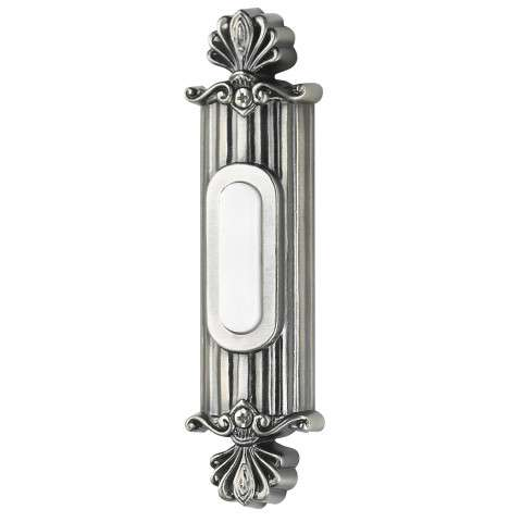 Craftmade Teiber Pushbuttons - Designer Surface Mount - Straight Ornate - Antique Pewter - Lighted