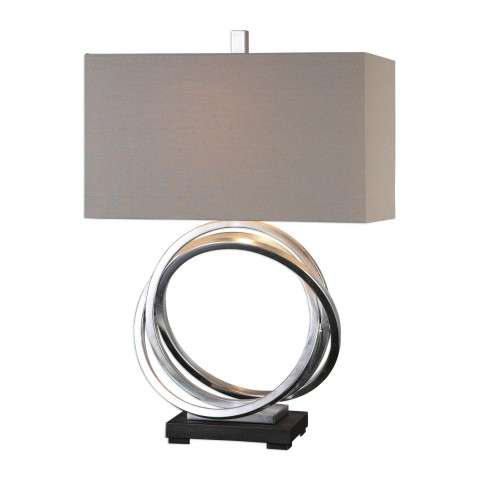 Soroca Silver Rings Lamp