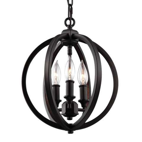 Corinne 3 - Light Pendant in Oil Rubbed Bronze