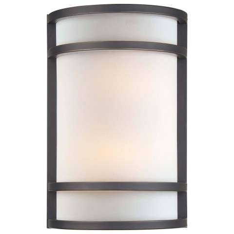 Minka Lavery Lighting 345-37B 2 Light Wall Sconce in Painted Restoration Bronze finish