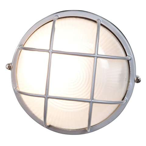 Access Lighting 20296-SAT/FST Nauticus Wet Location Bulkhead in Satin finish with Frosted glass
