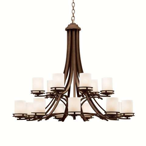 Kichler 1675OZ Chandelier 15Lt in Olde Bronze.