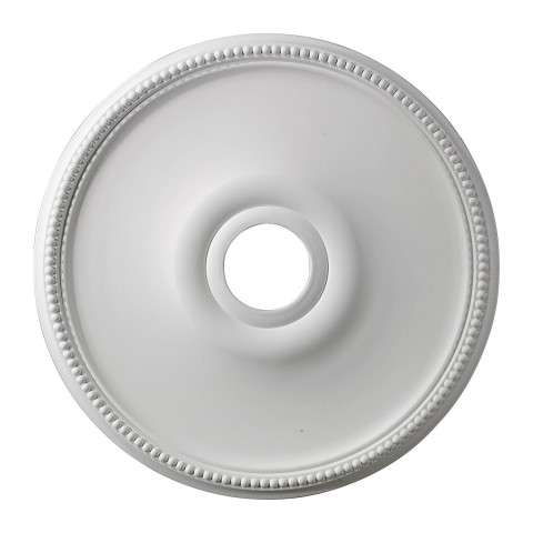 Elk Lighting M1003 Brittany Medallion 19 Inch In White Finish