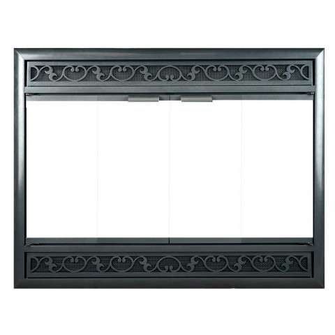 Brookfield ZC Deluxe Fireplace Doors - Main Photo