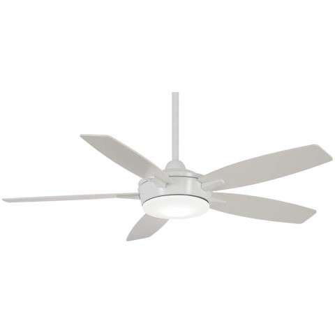 "Espace 52"" LED Ceiling Fan In White"