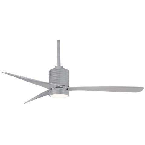 "Mojave 56"" LED Ceiling Fan In Silver"