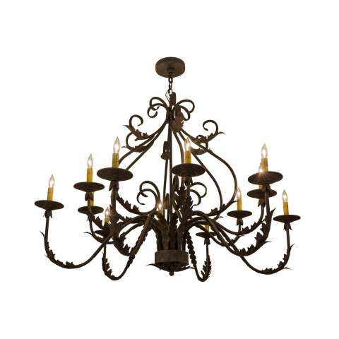 "48"" W French Elegance 12 Lt Chandelier - Custom Crafted In Yorkville - New York Please Allow 30 Days"