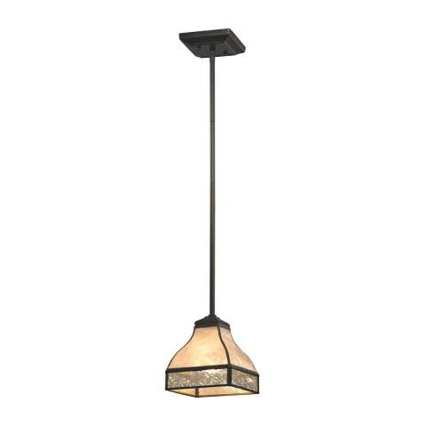 Santa Fe 1 Light Pendant In Tiffany Bronze