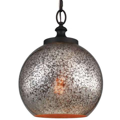 Tabby 1 Bulb Oil Rubbed Bronze Pendant