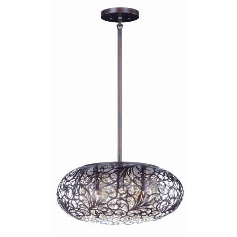 Arabesque 9-Light Pendant in Oil Rubbed Bronze