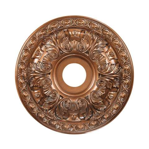 Pennington  Light Medallion In Antique Bronze