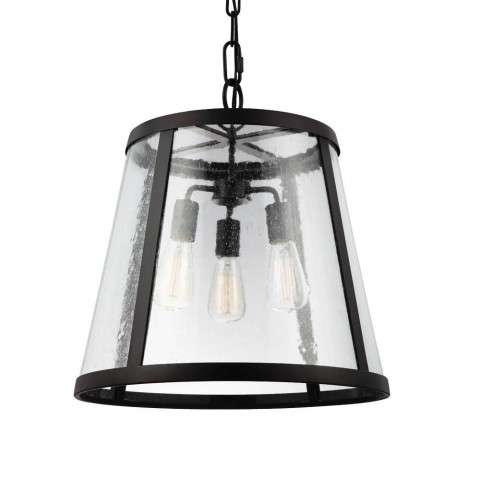 Harrow 3-Light Harrow Pendant in Oil Rubbed Bronze