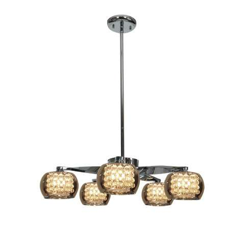 Glam 5- Light Chandelier