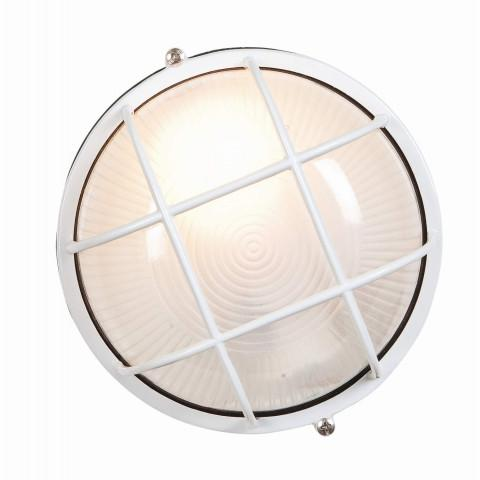 Access Lighting 20294-WH/FST NauticusWet Location Bulkheadin White finish with Frosted glass