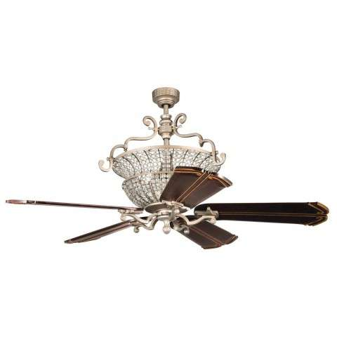 Craftmade Crystal Ceiling Fan Model CR52AO in Athenian Obol