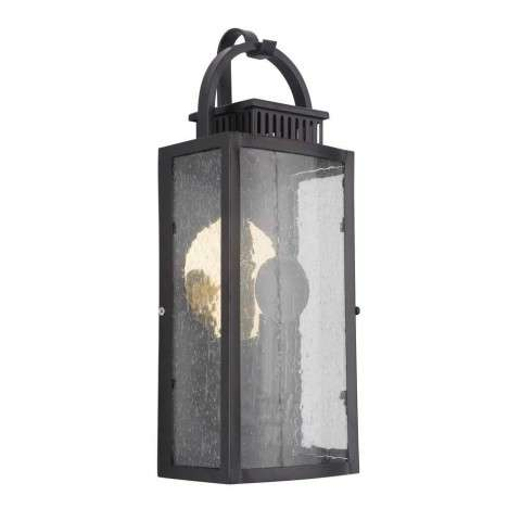 Hearth Small Pocket LED Sconce in Midnight