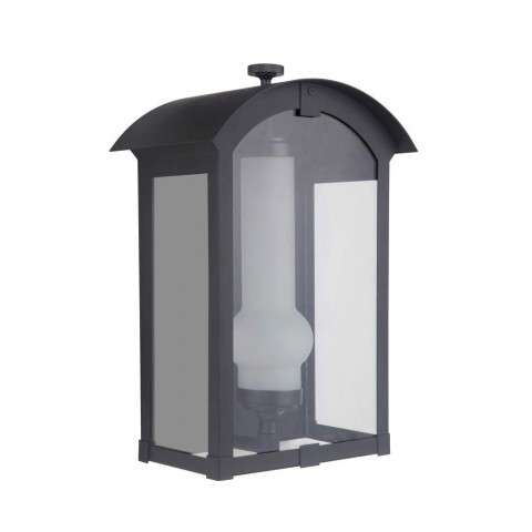 Montcrest Medium LED Pocket Sconce in Midnight