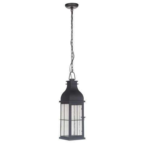 Vincent Medium LED Pendant in Midnight