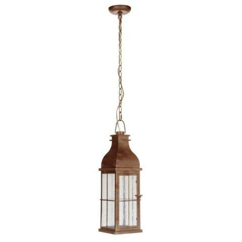 Vincent Medium LED Pendant in Weathered Copper
