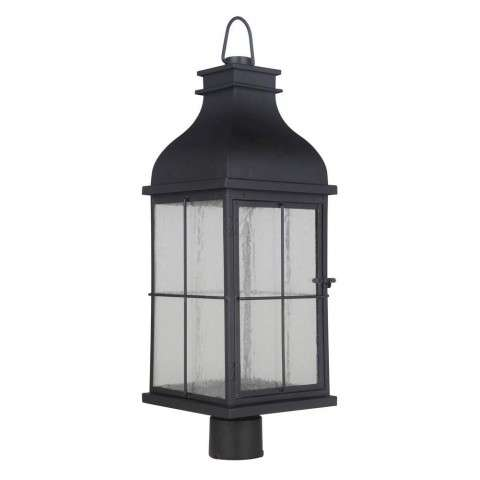 Vincent Large LED Post Mount in Midnight