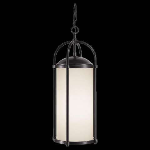 Murray Feiss OL7611ES Dakota Outdor Lighting in Espresso finish with Aged Oak Glass