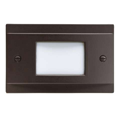 Step and Hall Light - LED STEPLIGHT NON DIMMABLE in Architectural Bronze Finish