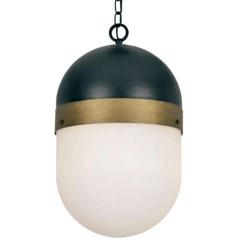 Brian Patrick Flynn for Crystorama Capsule Outdoor 3 Light Pendant
