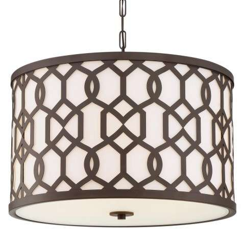 Libby Langdon for Crystorama Sylvan Outdoor 5 Light Chandelier