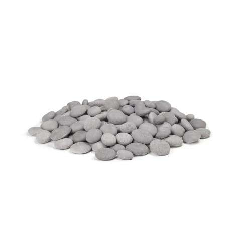 AFD - CSTN-20-G Greige Creekstones for Outdoor Fire Pits (140 pieces).