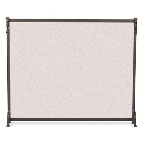 "Single Panel Fireplace Screen - 44"" Wide x 33"" Tall"