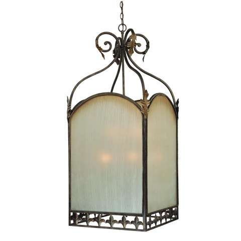 Craftmade Exteriors Devereaux - Burleson Bronze 9 Light Foyer in Burleson Bronze