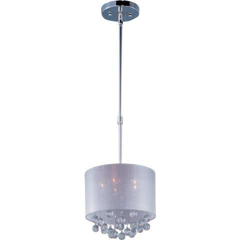 ET2 Contemporary Lighting E22384-120PC Veil 5-light Single Pendant in Polished Chrome finish