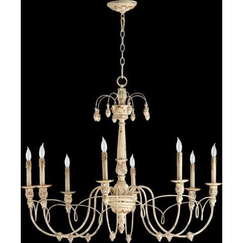 "Salento 37"" /8 Light Chandelier in Persian White"