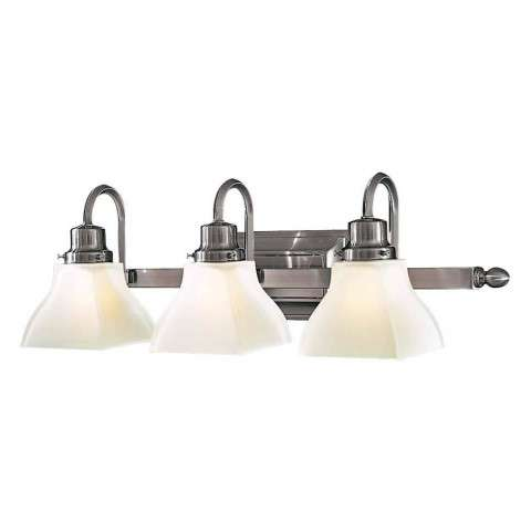 Minka Lavery Lighting 5583-84 3 Light Bath in Brushed Nickel finish