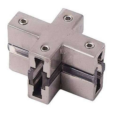 George Kovacs GKCX-084 Connector in Brushed Nickel finish