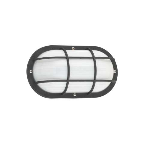 Bayside - One Light Outdoor Wall Lantern in Black