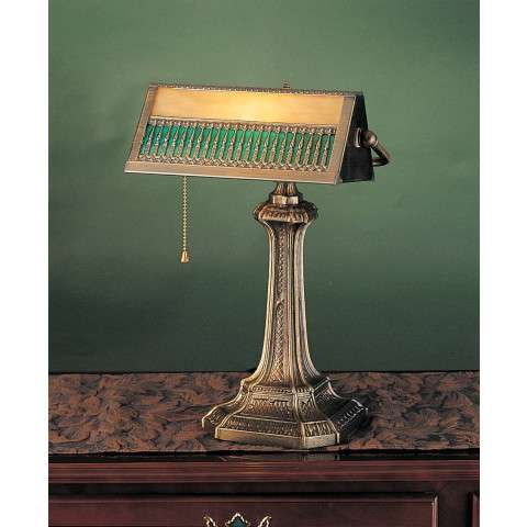 Meyda Tiffany 31300 Gothic Mission Bankers Lamp
